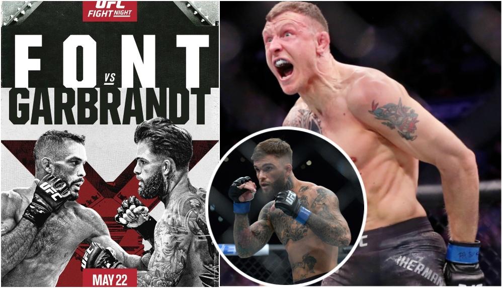UFC Vegas 27: Font vs Garbrandt – Fullständiga resultat och bonusar