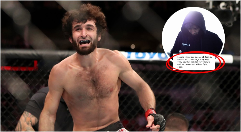 UFC Zabit Magomedsharipov (© Kevin Jairaj-USA TODAY Sports)
