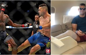 Uriah Hall, Chris Weidman, © Jasen Vinlove, US Sport TODAY, Instagram @chrisweidman