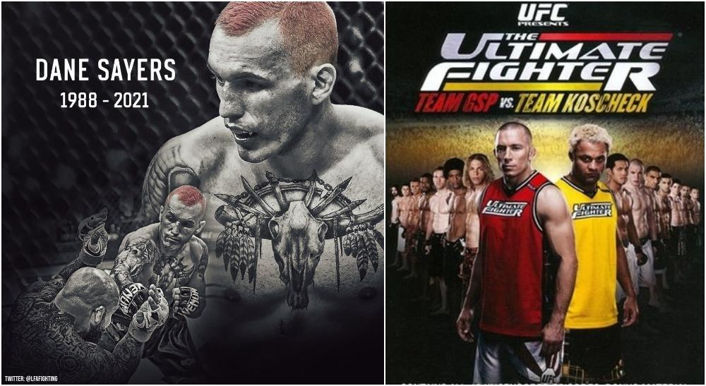 Dane Sayers MMA The Ultimate Fighter 12 (Twitter @LFAFighting + Wikipedia)