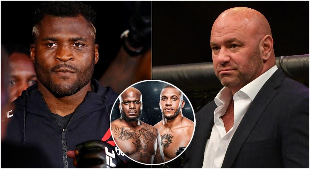 Francis Ngannou Dana White UFC (USA Today Sports)