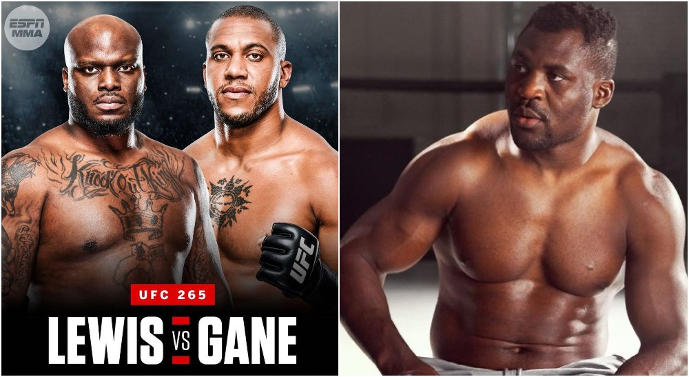 Francis Ngannou UFC Derrick Lewis Cyril Gane