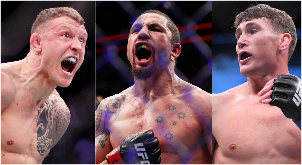 Jack Hermansson, Whittaker, Till (USA Today Sports)