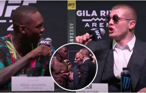 Israel Adesanya, Marvin Vettori, UFC 263 presskonferens