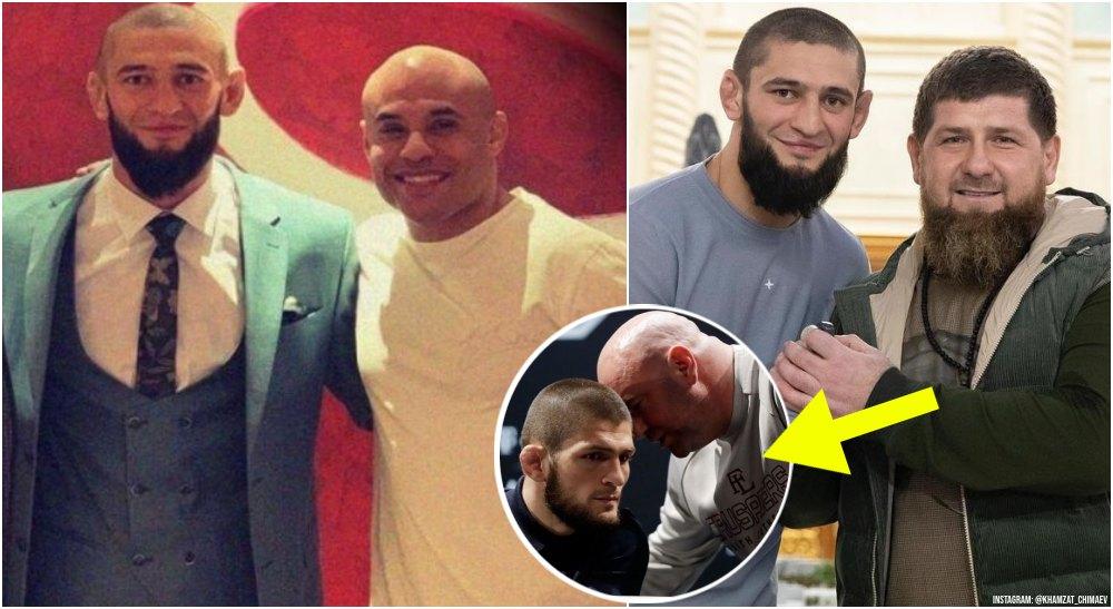 Khamzat Chimaev Ali Abdelaziz Ramzam Kadyrov Khabib