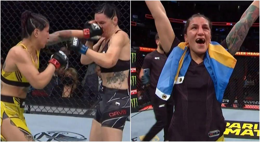 Pannie Kianzad imponerar — krigar hem vinsten på UFC 263!