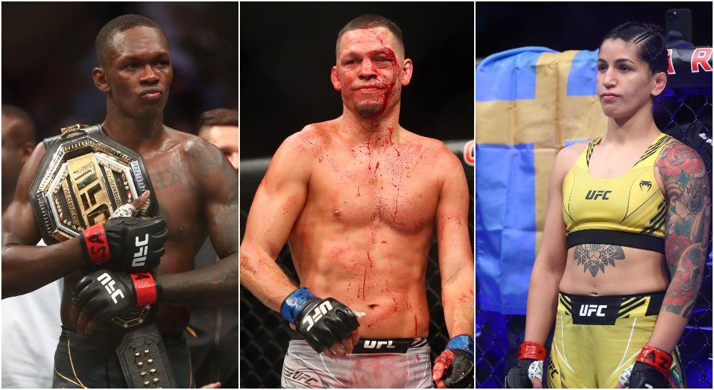 UFC 263, Israel Adesanya, Nate Diaz