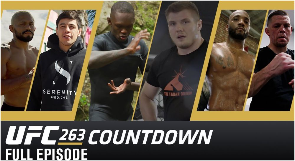 UFC 263 Countdown