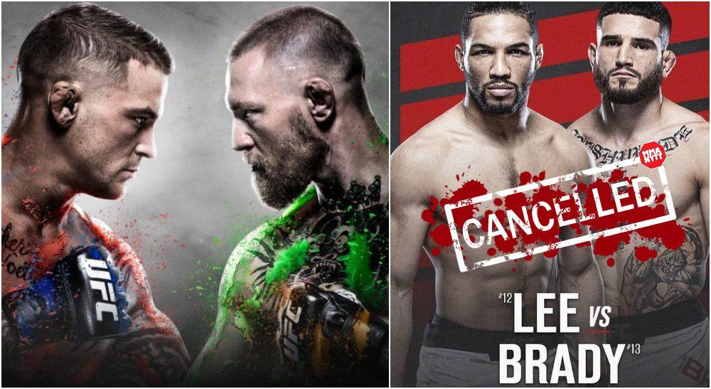 UFC 264 Sean Brady Kevin Lee MMAnytt.se