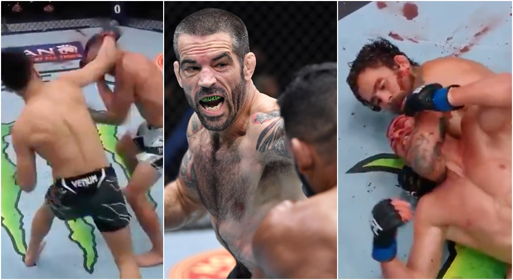UFC Vegas 29_ TKZ vs Ige (UFC Screenshots + Twitter @UFC)