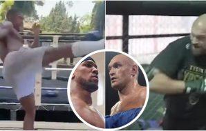 Anthony Joshua, Tyson Fury, @© Joe Camporeale-USA TODAY Sports,