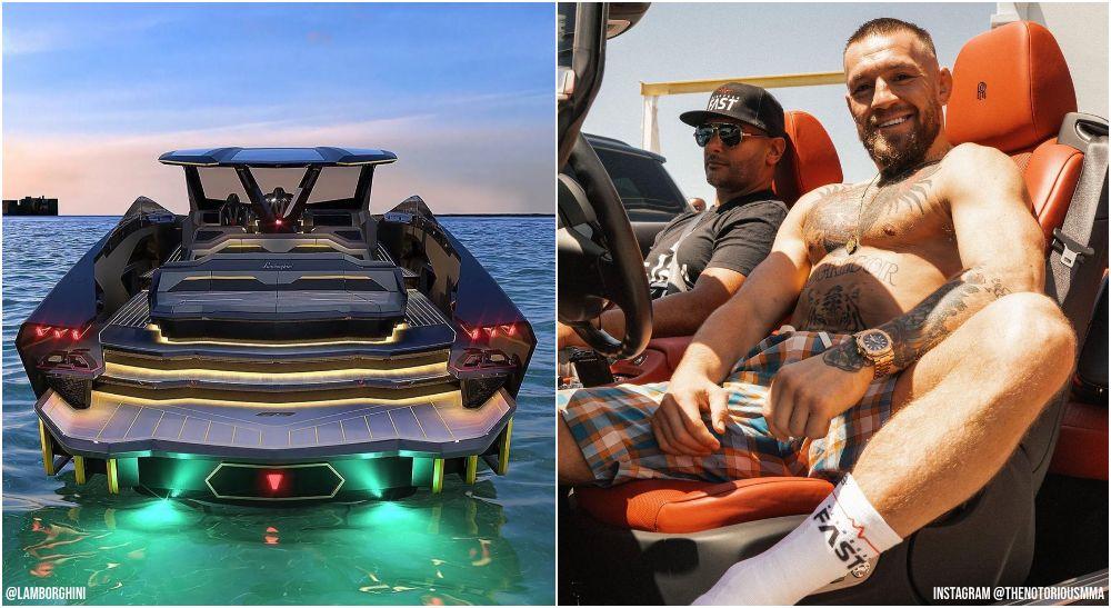 Conor McGregor Lamborghini Yacht UFC lön (@Lamborghini + @TheNotoriousMMA
