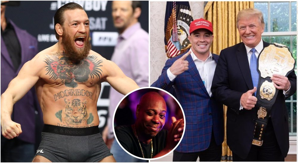 Donald Trump Conor McGregor (USA Today Sports + Instagram @ColbyCovMMA)