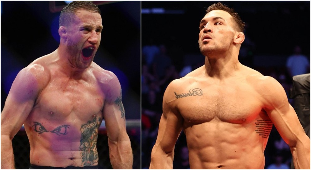 Justin Gaethje Michael Chandler UFC 268 (USA Today Sports)