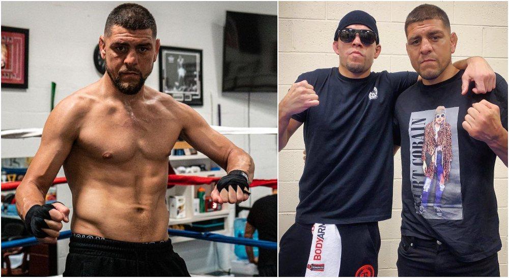 Nick Diaz Robbie Lawler 2 UFC MMAnytt (Instagram @NickDiaz209)