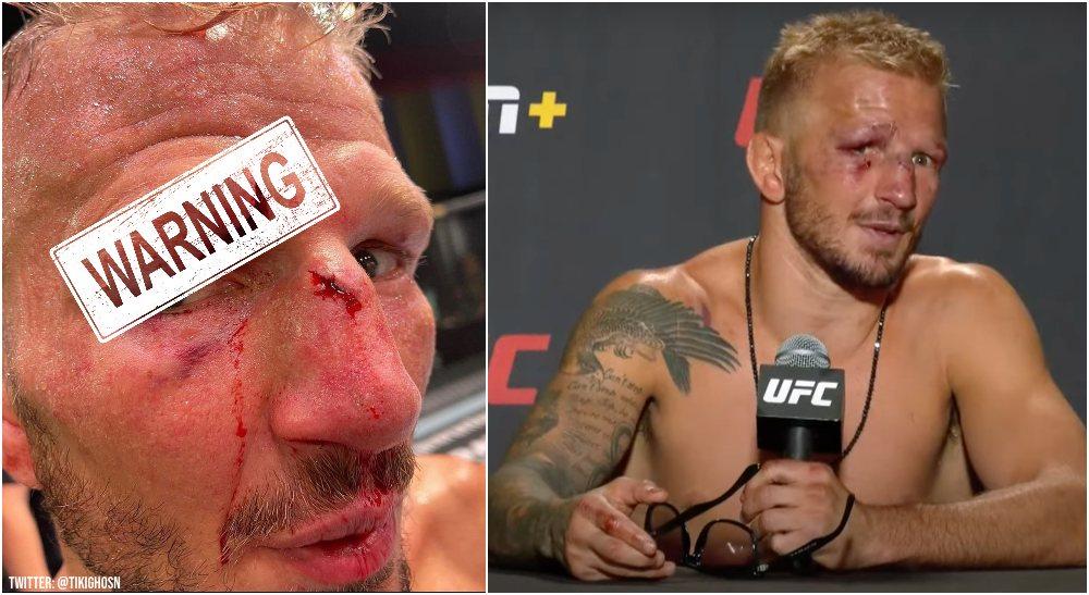 TJ Dillashaw UFC MMAnytt (Twitter @ @tikighosn)