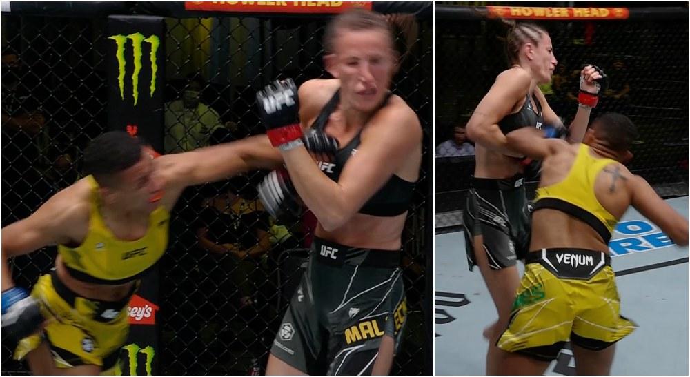 Bea Malecki Josie Nunes UFC Vegas 34
