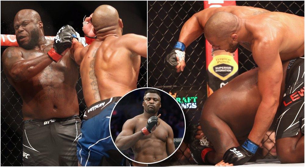 Ciryl Gane Derrick Lewis UFC 265 MMAnytt (© Troy Taormina-USA TODAY Sports)