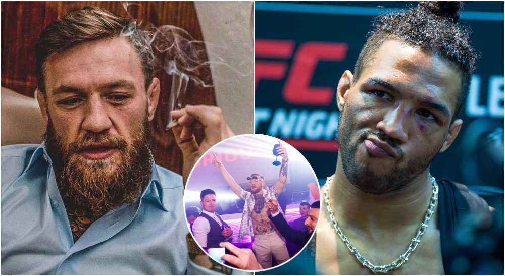 Conor McGregor Kevin Lee (USA Today Sports)