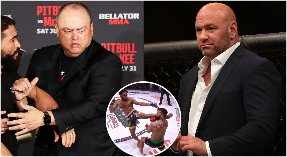 Dana White, Scott Coker, A.J. McKee, Bellator, UFC