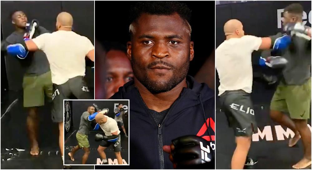 Francis Ngannou Ciryl Gane MMAnytt Screenshot ESPN (USA Today Sports)