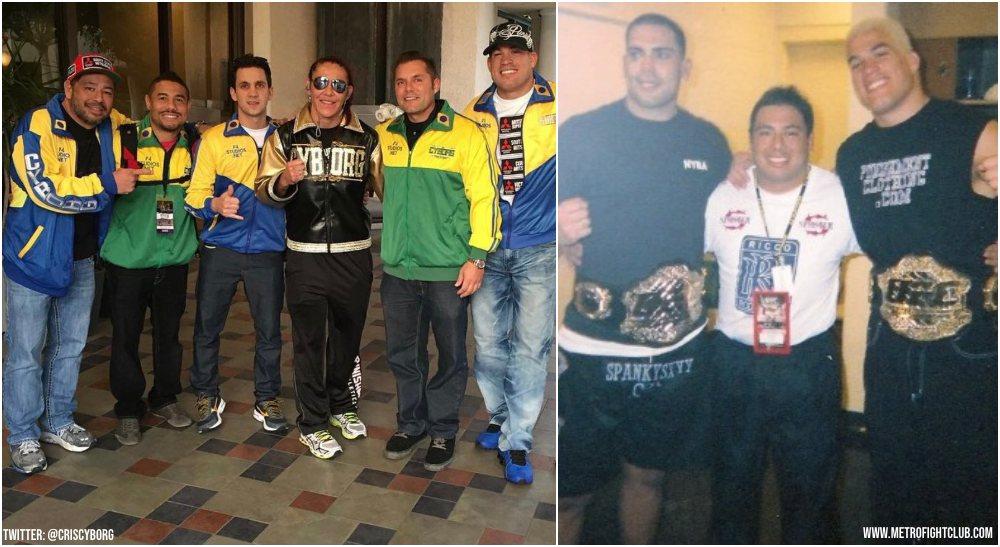 stjärntränaren MMA och UFC-coach Saul Soliz (Metro Fight Club + Twitter @CrisCyborg)