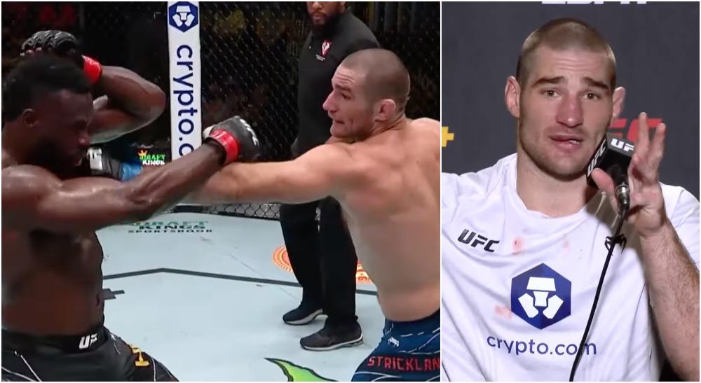 Sean Strickland UFC Screenshot MMAnytt