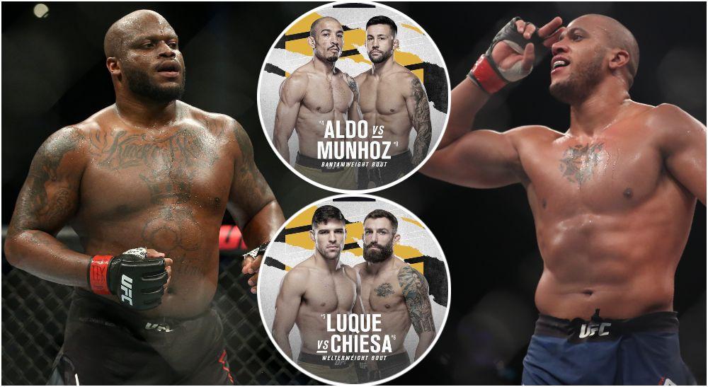 UFC 265, Derrick Lewis, Ciryl Gane