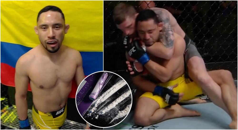 UFC Vegas Screenshot Juancamilo Ronderos kokain