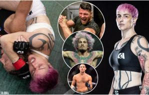 Transfightern Alana McLaughlin Bisping OMalley Strickland (USA Today Sports + Combate Global)