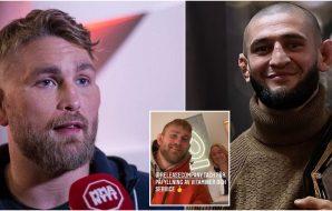 Release Co. Stockholm Alexander Gustafsson Khamzat Chimaev (Stefan Romare_MMAnytt)