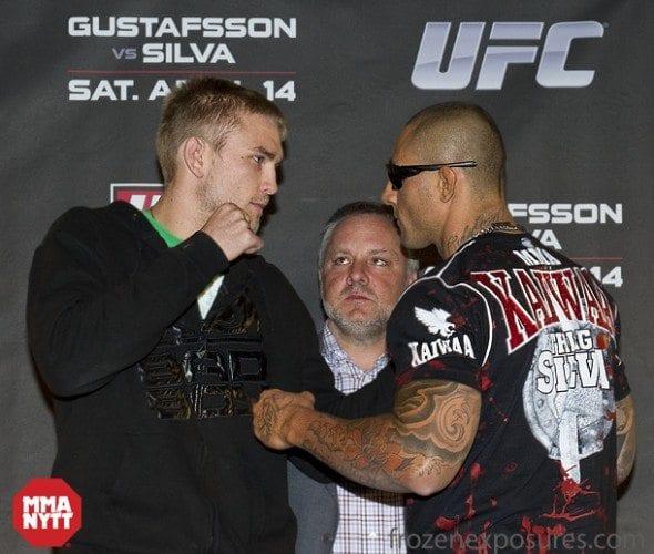 Bilder från presskonferensen inför UFC: Sweden