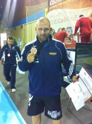 Mats Nilsson vinner VM-guld i SW, Eddy Bengtsson vinner brons