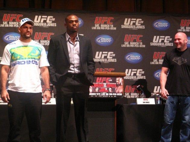 UFC 128: MMAnytts bilder från presskonferensen