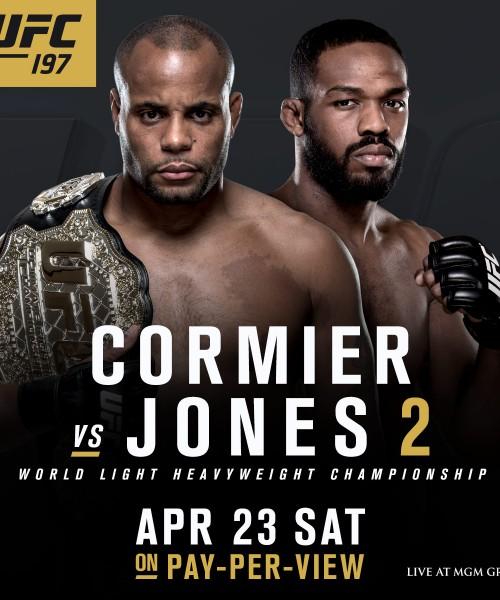 Cormier vs Jones 2