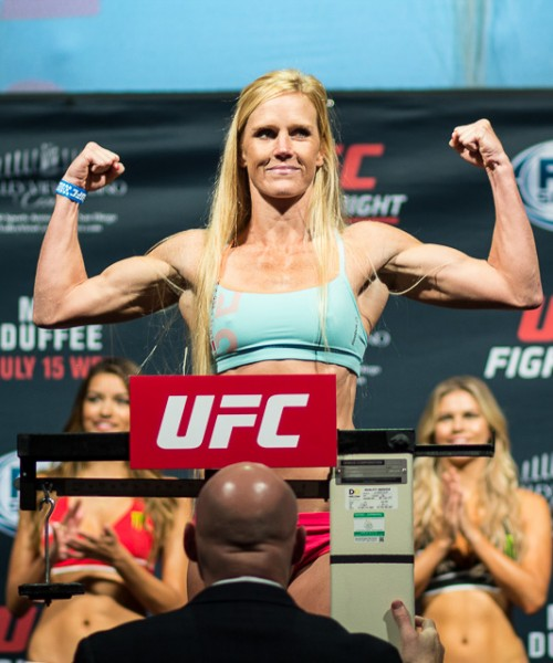 Holly Holm UFC Fight Night San Diego Mir Vs Duffee Mixed martial arts MMAnytt 2015 Foto Mazdak Cavian-57