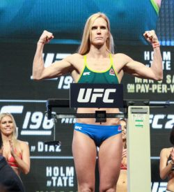 UFC 196 Holly Holm LAS VEGAS MGM Weigh ins MEDIADAY OPEN WORKOUT 2016 PHOTO MAZDAK CAVIAN MEDIADAY FIGHT-25