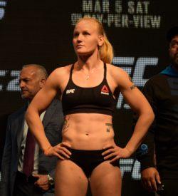UFC 196 LAS VEGAS MGM WIEGH INS DPATINKIN 2016 VALENTINA SHEVCHENKO 2